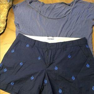 Shorts & shirt